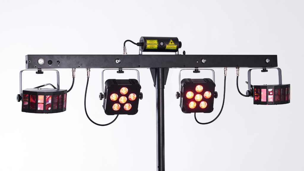 Stairville LED BossFx-1 Pro Bundle 2